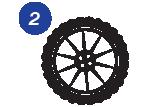 elite carwash process - 2 clean the tires