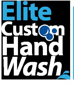 hand wash services - elite custom hand wash